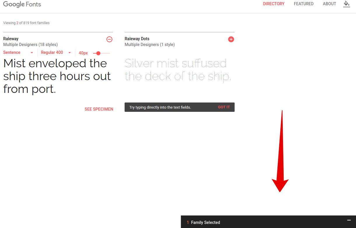 Как подключить шрифт на сайт в CSS с помощью Google Fonts
