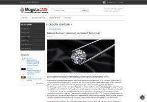 шаблон для Moguta MG-CLEAN