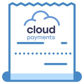 Чек доставки CloudPayments